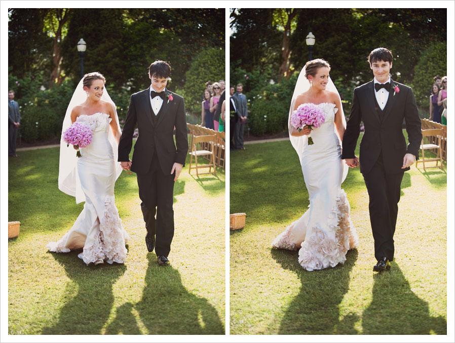 Atlanta Botanical Garden Wedding Tara Jason Married In Atlanta Botanical Gardens Photo By